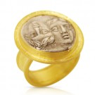 Gemini Coin Ring