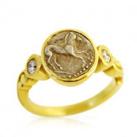 Horse Coin Ring