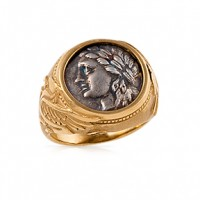 Apollo Coin Ring