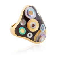 Fischinger Inlay Ring