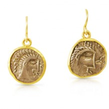 Boudica Coin Earrings