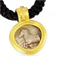 Thessaly Horse Pendant