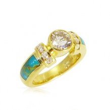 Diamond & Inlay Ring