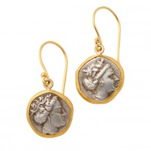 Euboia Coin Earrings