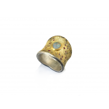 Opal and Ruby Event Horizon Ring