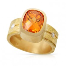 Spessartite Ring