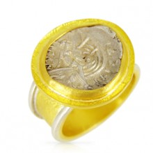 Euboia Coin Ring