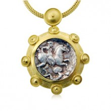 Paeonian Coin Pendant