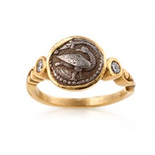 Macedonian Coin Ring