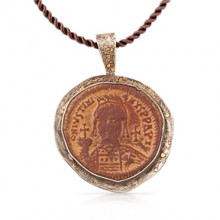 Justinian Coin Pendant