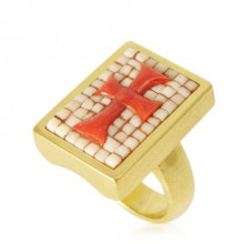 Maltese Cross Ring