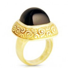 Jade Dome Ring