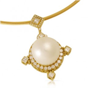 Large Pearl Pendant