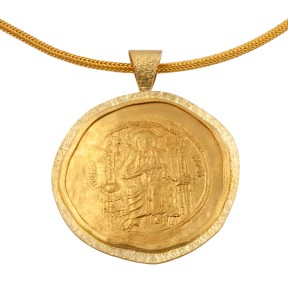 Byzantine Coin Pendant