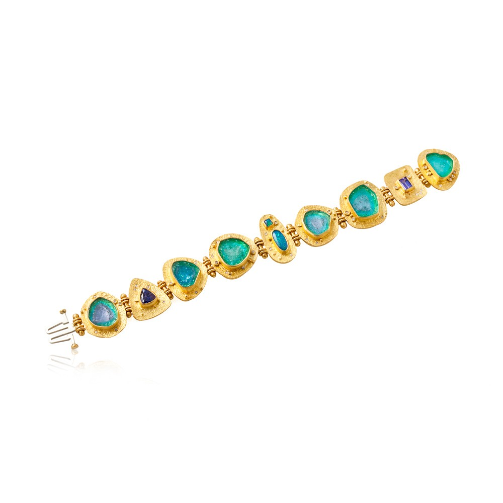 Paraiba Bracelet High Desert Collection By Valerie
